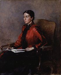 Mrs Humphry Ward (Mary Augusta Ward (née Arnold)) by Julian Russell Story.jpg