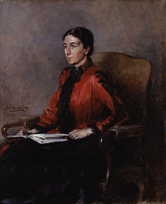 Mary Augusta Ward - Mary Augusta Ward, by Julian Russell Story, 1889