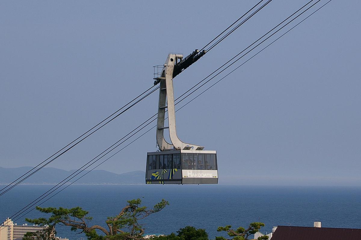 Mount Hakodate Ropeway - Wikipedia