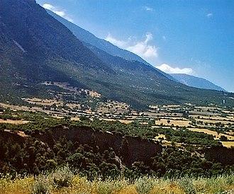 Muğla Province - Typical Muğla inland landscape.