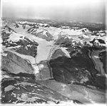 Muir Glacier, tidewater glacier terminus, remnents, and detached east branch, August 31, 1977 (GLACIERS 5722).jpg