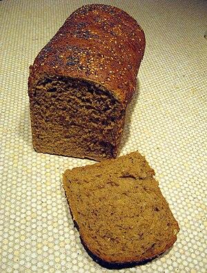 Multigrain bread - A loaf of multigrain bread