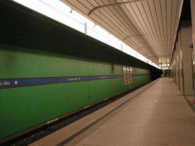 Munich U-Bahn Forstenrieder Allee