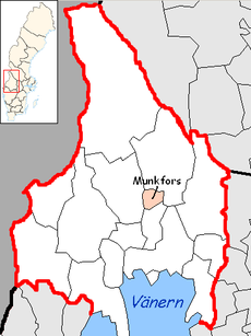 Munkfors Municipality in Värmland County.png