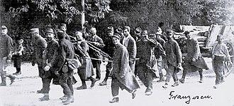 Munster Training Area - Image: Munsterlager – Erster Weltkrieg – Gefangene – Franzosen – 2