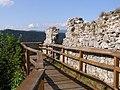 Muránsky hrad, sever 02.jpg