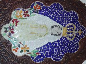 Virgen del Valle - Image: Mural Virgen Del Valle Margarita