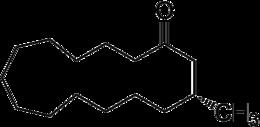 Strukturformel von Muscon