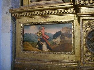 Carino of Balsamo - Image: Museo del Bigallo, martirio di San Pietro Martire, ridolfo del ghirlandaio (1515)