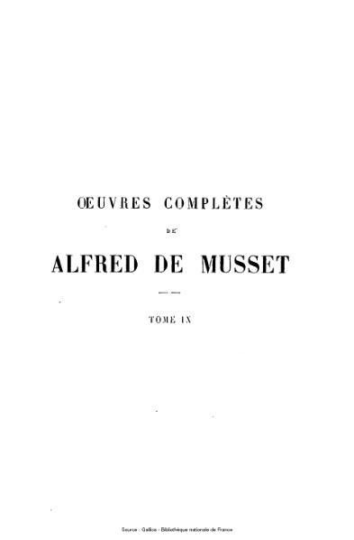 File:Musset - Œuvres complètes d'Alfred de Musset. Mélanges de littérature et de critique.djvu