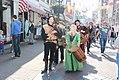 Muziek en vertier op de voorstraat 1 april feest Brielle.jpg