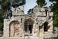 Nîmes-Jardin de la Fontaine-Temple de Diane-20140526.jpg