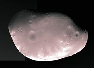 Deimos (moon) - Deimos imaged by one of the Viking orbiters