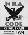 NRA-poster-blue eagle-displayed by businesses to show support for government program - NARA - 195507.tif