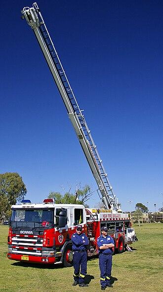Fire and Rescue NSW - Scania P94/Telesqurt Aerial Pumper