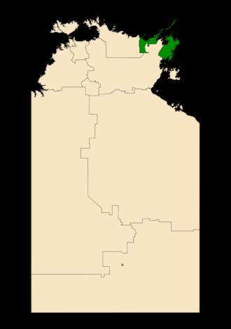 Electoral division of Nhulunbuy - Nhulunbuy in the Northern Territory
