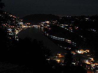 Nainital - Naini Lake view at night