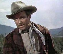 L'actor estatounitense James Stewart en 1953, en a cinta The Naked Spur.