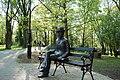 Naleczow park b prus statue.JPG