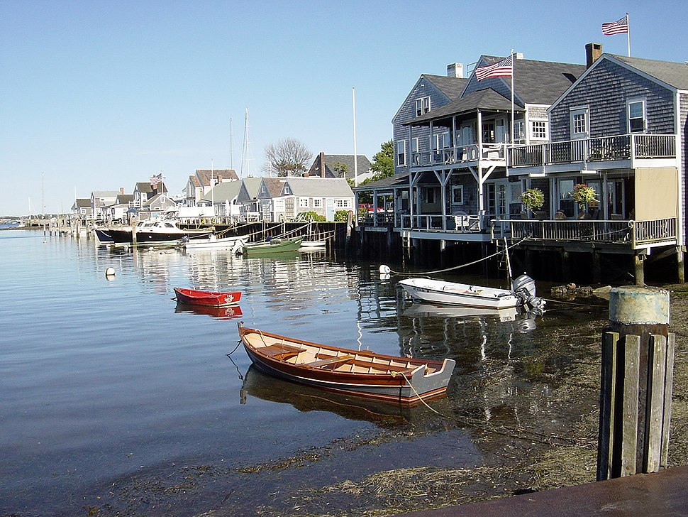Skyline of Nantucket, Massachusetts