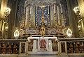 Napoli, l'icona Caesarius Diaconus, opera di Giovanni Guida, esposta nella Chiesa di Santa Brigida.jpg