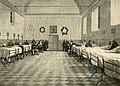 Napoli La sala dell'ospedale della Trinità nella quale si trovano i feriti di Dogali.jpg