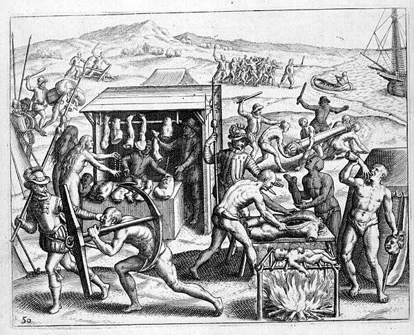 Narratio Regionum indicarum per Hispanos Quosdam devastatarum verissima Theodore de Bry