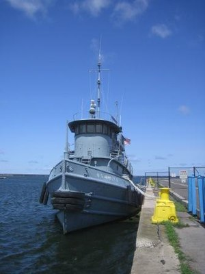 Nash (tugboat) - Image: Nash tugboat bow 2009 08 05sm