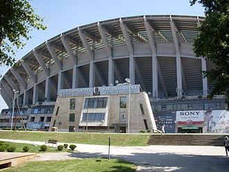Philip II Arena - Image: National Arena Skopje