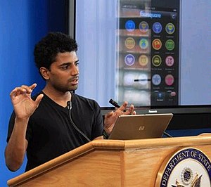 English: Naveen Selvadurai, co-founder of the ...