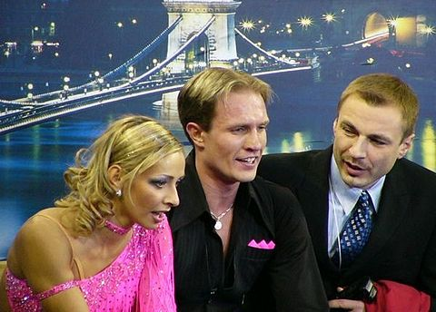 Tatiana Navka and Roman Kostomarov had scored the best two combined total scores, the best three compulsory dance scores and the best four free dance scores before the end of the 2009–2010 season and the elimination of the compulsory dance and the original dance.
