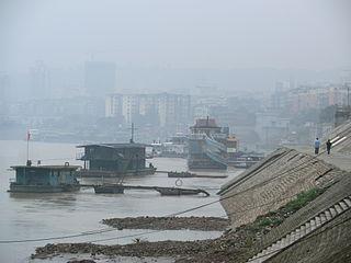 Naxi District district of Luzhou, Sichuan Province, China