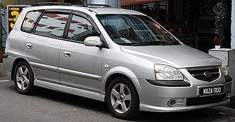 Naza Automotive Manufacturing - Image: Naza Citra in Malacca