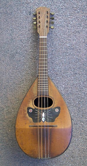 Greek folk music - Mandolin, dominant instrument of the Heptanesian music.