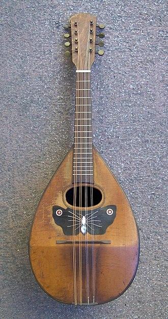 Greek folk music - Mandolin, dominant instrument of the Heptanesian music.