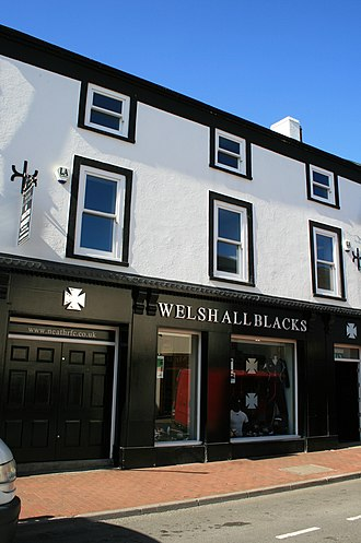 Neath RFC - Neath RFC shop, 13 Old Market Street, Neath