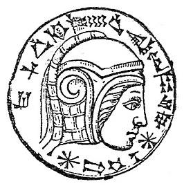 Gravering van Nebukadnezar II