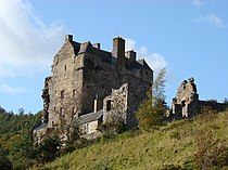 Neidpath Castle near Peebles - geograph.org.uk - 1632034.jpg