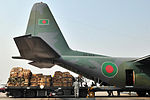 Nepalese Army, USAF work with Bangladesh, Indian Air Forces to process relief supplies 150507-F-XN788-020.jpg