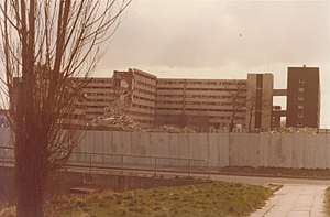 Netherley, Liverpool - Image: Netherley Liverpool looking towards Paveley Bank November 1983