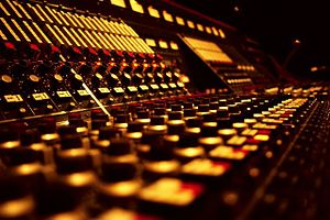 York Street Studio - Close up view of Neve