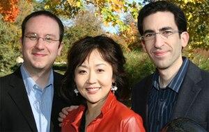 Oberlin Trio -  The Oberlin Trio, Dec. 2008 at Oberlin Conservatory: David Bowlin, violin; Haewon Song, piano;  Amir Eldan, cello