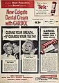 New Colgate Dental Cream with Gardol, 1954.jpg