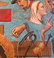 Niccolò di pietro gerini, cristo in pietà tra i simboli della passione, 1405-06, da s..a nnunziata 04 gesto delle fiche.JPG
