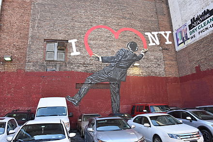 "Nick Walker's ""Love Vandal"" at 17th Street and 6th Avenue in Manhattan, New York City Nick Walker Love Vandal at 17th and 6th Ave Manhattan.jpg"