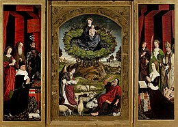 Nicola Froment, Triptych of the Burning Bush, 1475, Aix-en-Provence, Church Saint-Sauveur.jpg