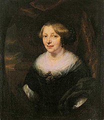Portrait of an Middle-aged Woman