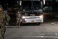 Night Watch 3 2 Marines Screen personnel in NYC for the USNS Comfort (49826285163).jpg