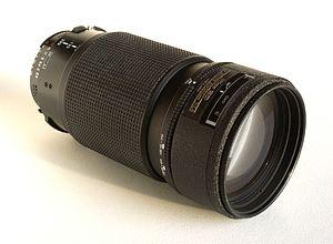 Nikon F 80-200mm lens - Image: Nikkor AF 80 200 f 2.8 ED