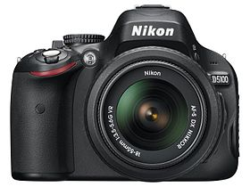 Image illustrative de l'article Nikon D5100